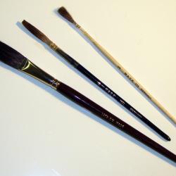 Sign Painter Brushes for Lettering Starter set