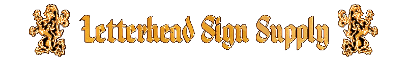 how-to-videos sign painting gold leaf pinstriping | Letterhead Sign Supply